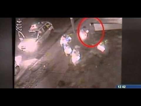 En video quedó registrado el abuso de 5 policías con un taxista