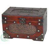 Quickway Imports Treasure Chest/Decorative Box, Small