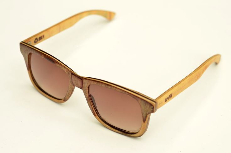 Hand made sunglasses, recycled from a Blind skateboard. by U-FIT/ARGENTINA