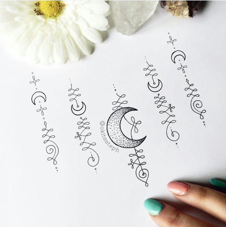 Unalome Tattoo Design