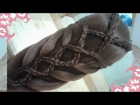 HAIRSTYLE STEP-BY-STEP FASHION 2018 FOR SCHOOL WITH EASY AND QUICK BRAIDS - YouTube