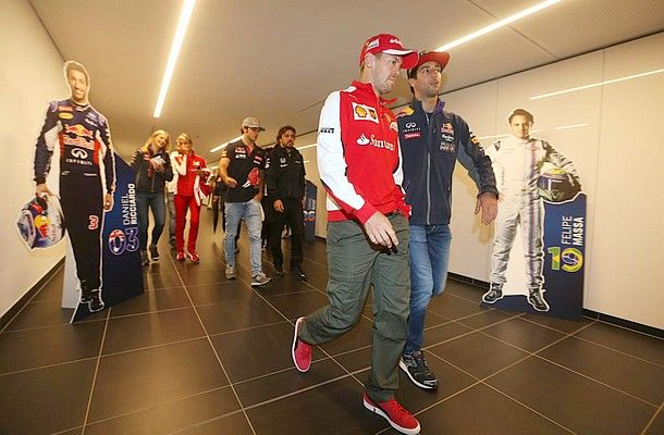 Čtvrtek před Grand Prix Rakouska 2015 - fotogalerie.
