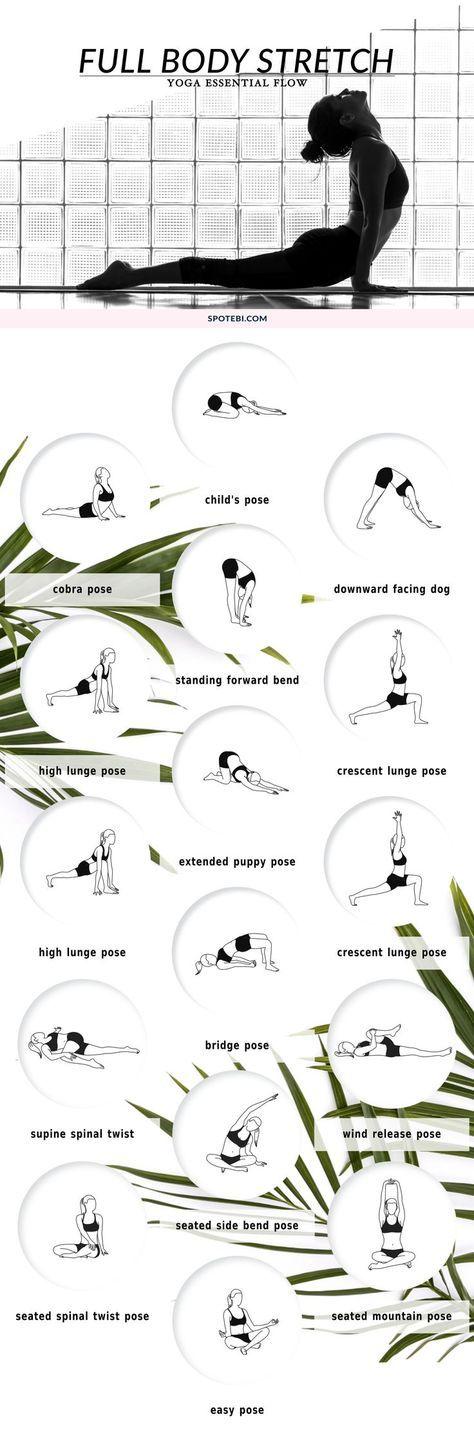 Mit dieser 10 Minuten Yoga Übungsreihe arbeitest du an deinem gesamten Körper.