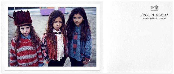 Scotch & Soda, Amsterdam Couture, children's fashion label.