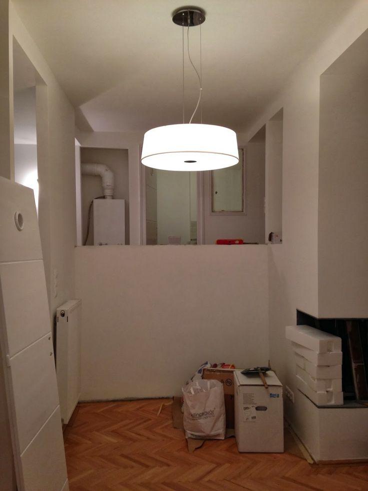 Kicsi Ház: Zsófi lakása 5. rész: A világítástervezés útvesztői - Ideal Lux gyártó, Hilton lámpacsalád - Aladdin csillárbolt