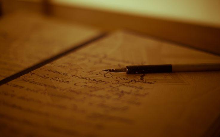 others pen book handwriting bokeh hd wallpaper