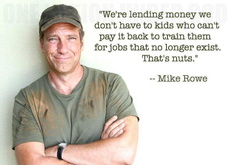 Mike rowe on jobs