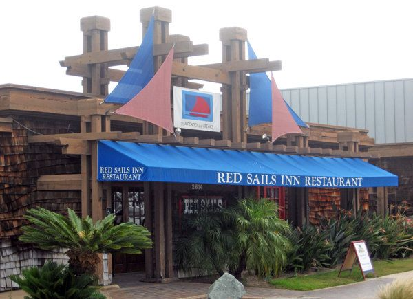 Red Sails Inn on Shelter Island Drive, a traditional restaurant with a laid-back, sailboat-themed dining room serving steaks and seafood, has been sold to nearby Brigantine. / Photo by Dave Schwab