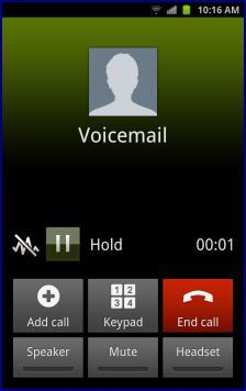 How to set up voice mail on samsung galaxy s4 p i