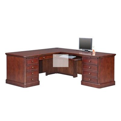 Winners Only, Inc. L Shaped Executive Desk U0026 Reviews | Wayfair