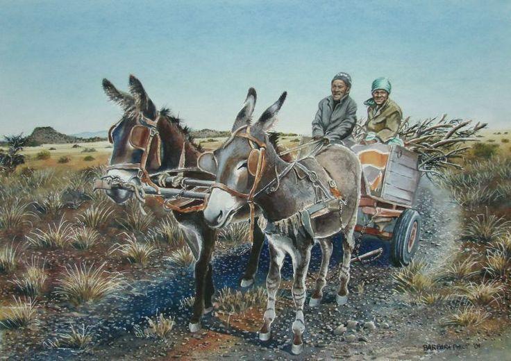Solomon's donkey cart