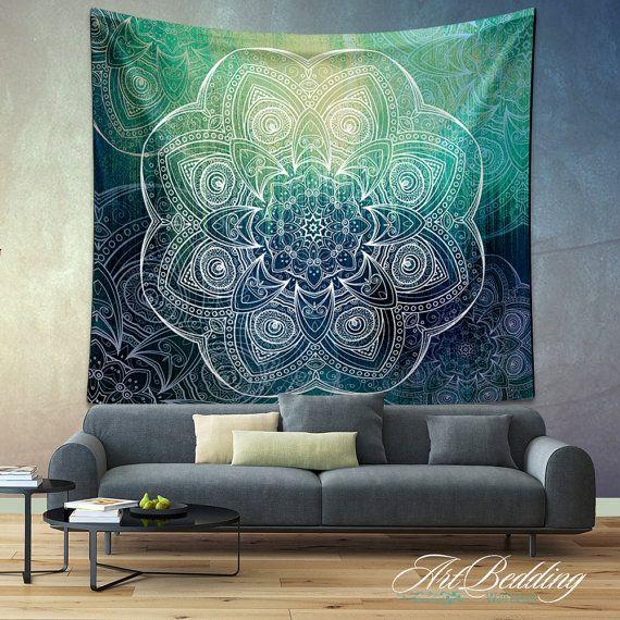 Bohemian Tapestry Boho mandala wall tapestryHippie by ArtBedding