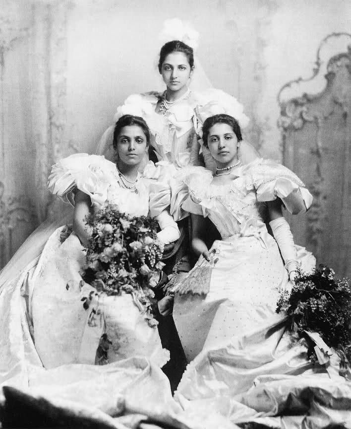 Daughters of the last crown Prince: Princesses Catherine, Bamba, and Sophia of the Sikh Kingdom usurped by the British.