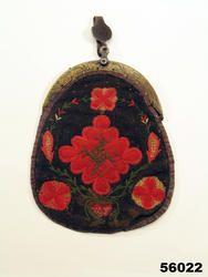 Broderad väska från Mörsil, Jämtland