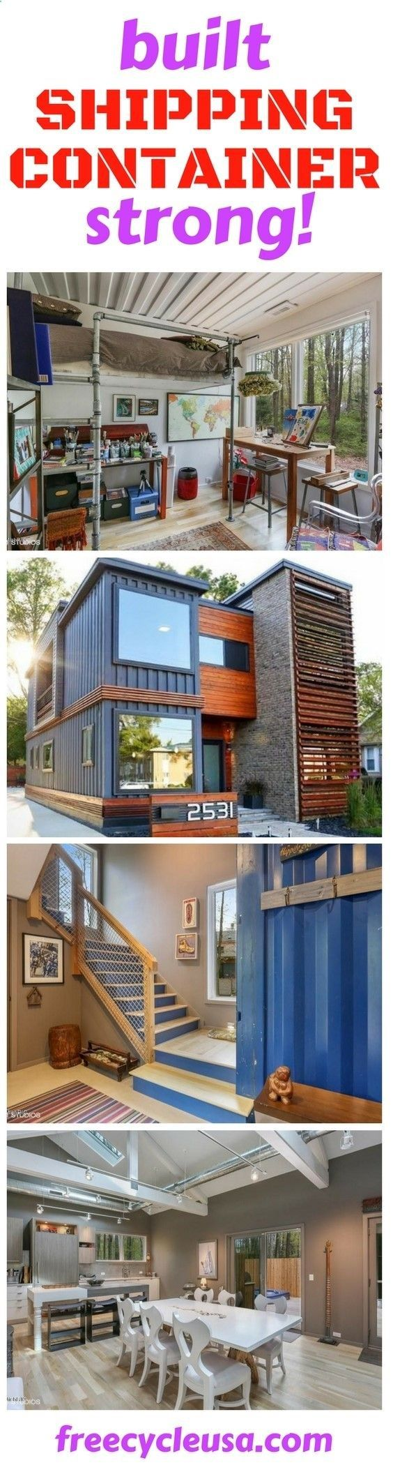 974 best Shipping Container Houses images on Pinterest | Container ...