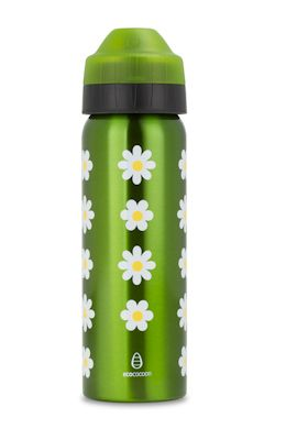 NEW 600ml Daisies insulated water bottle from @ecococoon