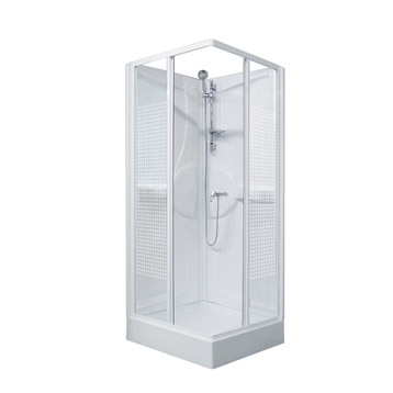 Cabine de douche simple Arden2, carr�e, 80 x 80 cm