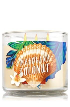 Bougie 3 Mèches Mahogany Coconut Bath And Body Works