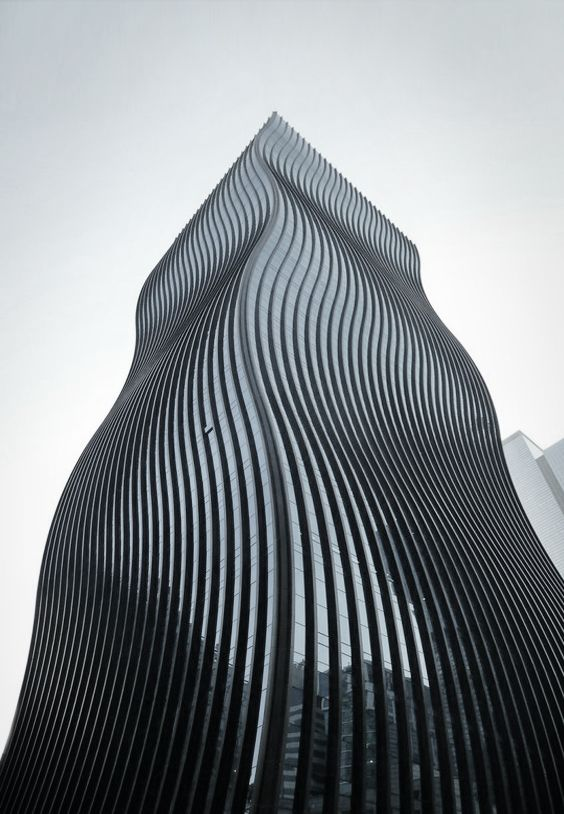 Wow, love the soft curves in this building