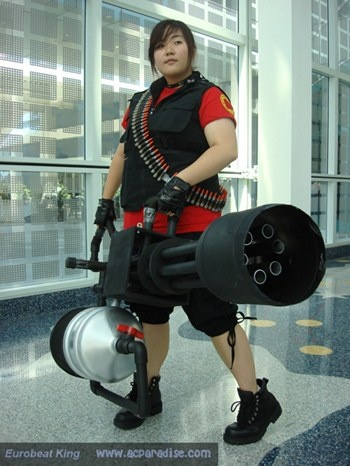 Team Fortress 2 Heavy Cosplay - Imgur