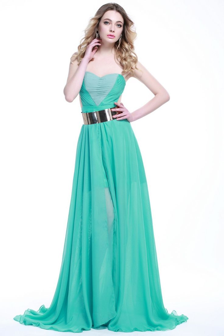 17 Best images about Eye-catching Green Prom Dresses on ...