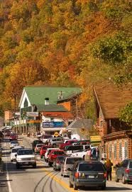 The town of Chimney Rock, lake lure nc -  Lots of eateries, antiques stores and general stores selling the local merchandise. I ss something new everytime i go to shop, love the old time stuff!!