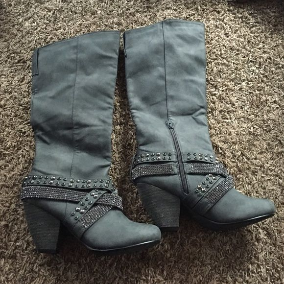 Not Rated boots! Never been worn! Not Rated Shoes Heeled Boots