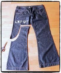 Bildergebnis für die Schürze, die alte Jeans herstellt