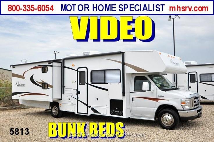 New 2013 coachmen freelander class c bunk model rv for for Motor home specialist inc alvarado texas