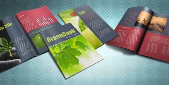 GreenBook brochure template