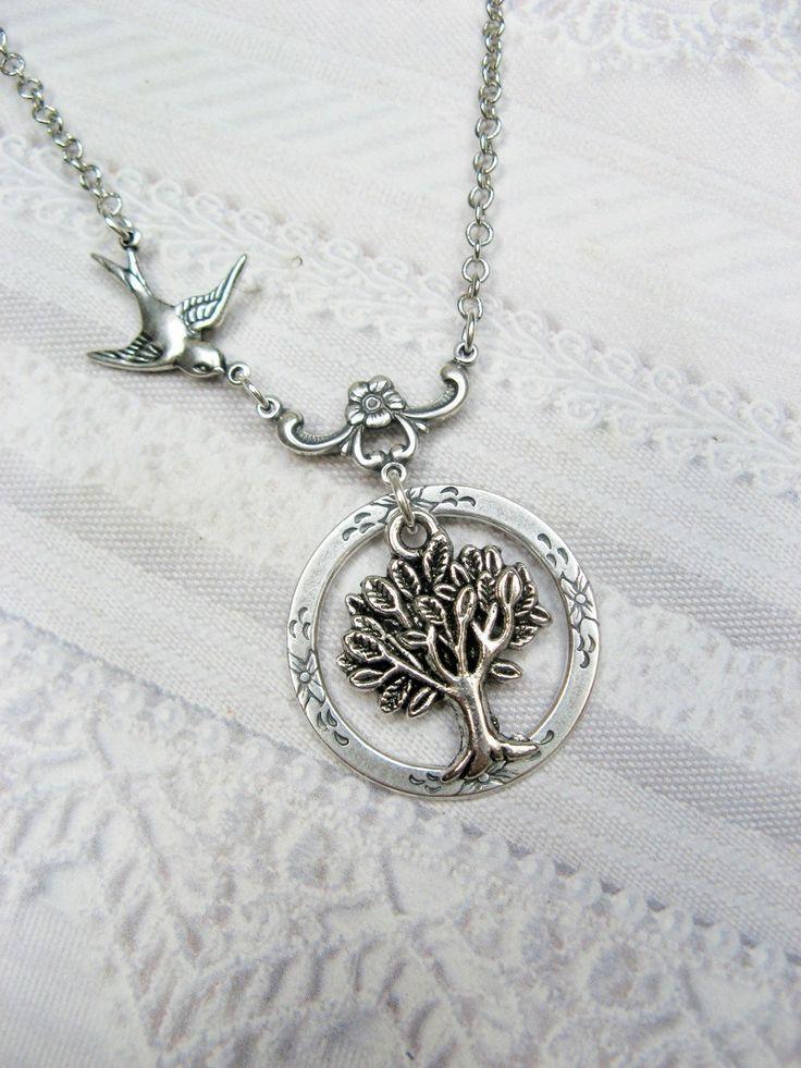 Love!!!  Eternity Tree of Life. $22.00, via Etsy.