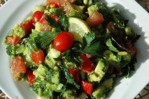 Avokádó saláta  -Guacamole
