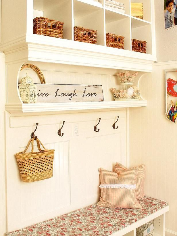 Beautiful Built-Ins. Love the cottage-style. http://www.hgtv.com/decorating-basics/shabby-chic-style-guide/pictures/page-5.html?soc=pinterest