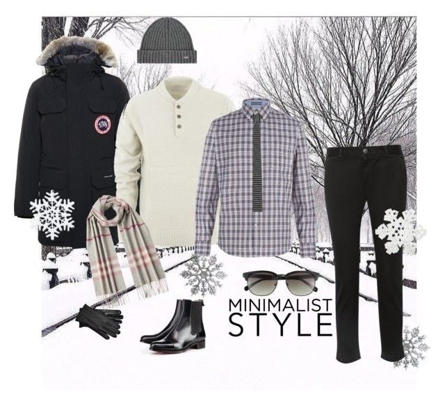 """Bring It On!!"" by dressmeup365 on Polyvore.  No matter what the winter may bring us, this look will make him look good, warm and comfortable."
