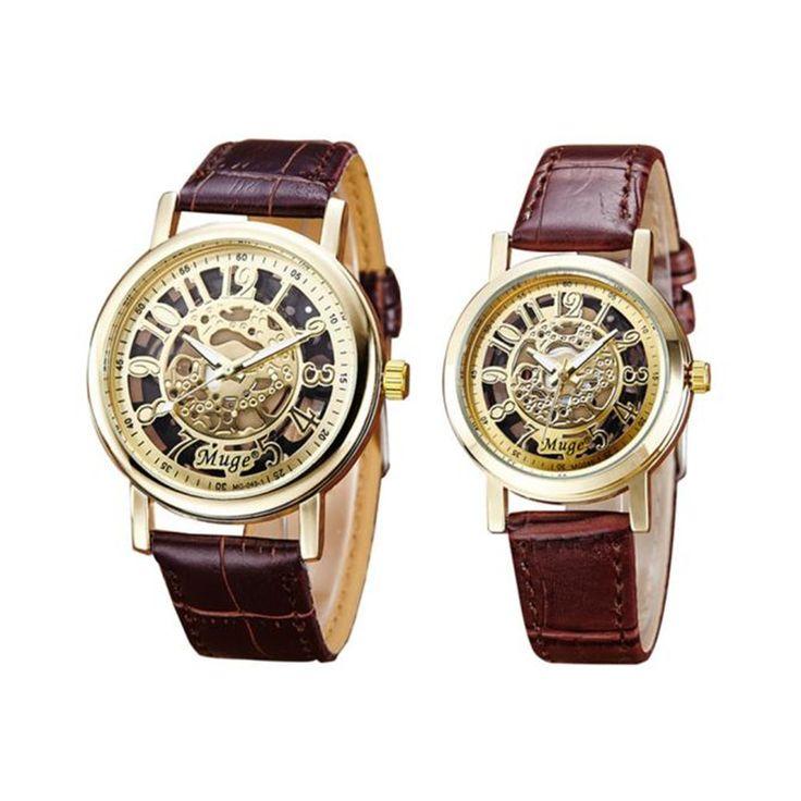 $5.45 (Buy here: https://alitems.com/g/1e8d114494ebda23ff8b16525dc3e8/?i=5&ulp=https%3A%2F%2Fwww.aliexpress.com%2Fitem%2FHot-Woman-Mens-Retro-Design-Hollow-Skeleton-Mechanical-Couple-Watch-Quartz-Watch-Fashion-Leather-Strap-Wrist%2F32769690737.html ) Hot Woman Mens Retro Design Hollow Skeleton Mechanical Couple Watch Quartz Watch Fashion Leather Strap Wrist Watch Relogio Clock for just $5.45