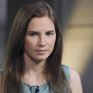 """What's it like to be """"wrongly accused of a crime you did not commit?"""" Who better to turn to for insight than the always-eager-to-share Amanda Knox, convicted killer of student"""