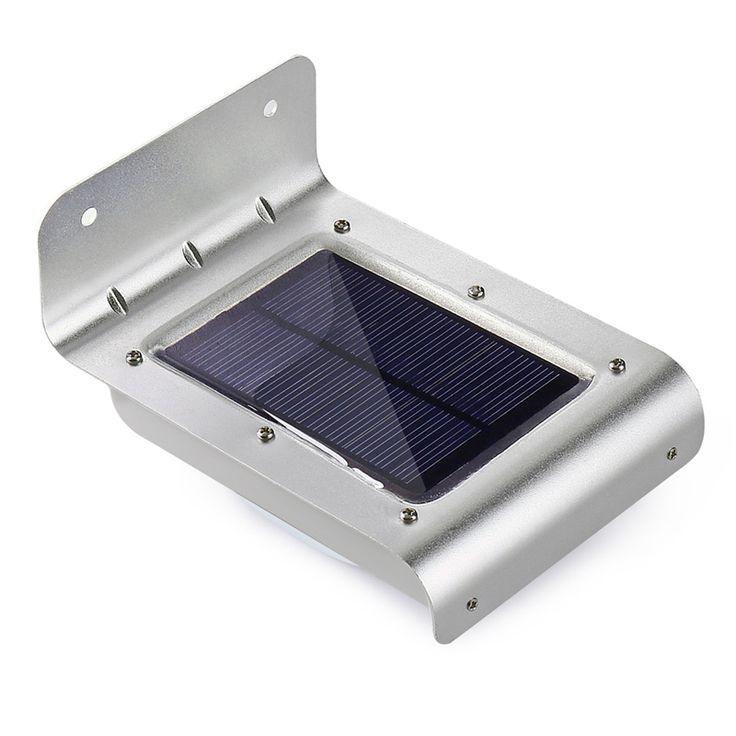 16 LED Solaire Extérieure Led Lumière Wall Mount Lampe de Sécurité Super Lumineux Étanche Lumière Motion Sensor Jardin Patio Chemin Clôture lampe