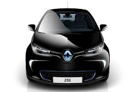 Renault Zoe electric car. I can test the car now. It drives very well, the only disadvantage is the range (only 150 km and recharge is necessary).