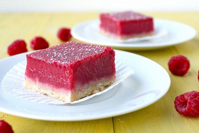 raspberry lemonade bars