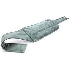 Ceinture lombaire chauffante verte - La ceinture chauffante qui réconforte et détend Profitez de sa forme ergonomique adaptée au bas du dos Reste chaude pendant 40 minutes Idéale pour dénouer les tensions et se détendre