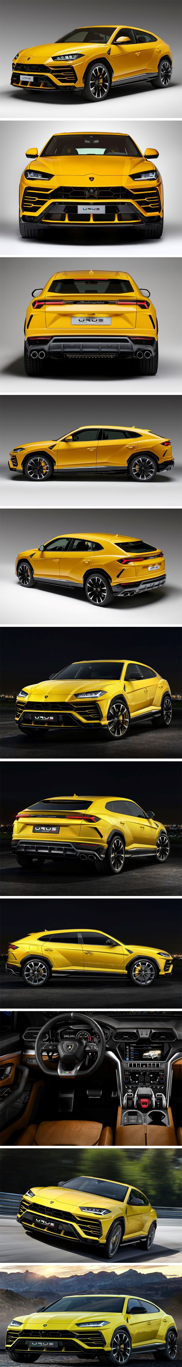 The Urus has been a long time coming! Especially since it's initial reveal in 2012, Lamborghini casually dropped hints every few years, indicating a 2018 release and here we are now, with the car being unveiled in full grandeur… touted as one of the few Lamborghini cars with 4 seats… and a car that the company calls the world's first Super Sports Utility Vehicle (SSUV).