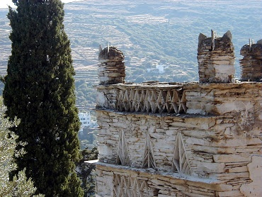 Discover Andros - Enjoying the outdoors!: The Upper Castle - Kochylou Korthi