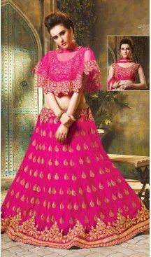 Deep Pink Color Net Embroidery Designer Lehenga Choli | FH604188191 Sale Up to 35% OFF Discount Latest Fancy Designer Wear Lahanga Choli Online Shop Now at https://www.heenastyle.com/lehengas/bridal-lehenga-choli  #LehenghaCholi #bridallehenga #DesignerLehenga #WeddingLehenga #Lehenga #WeddingLehenga #IndianLehenga #Traditional #festivals #party #wedding #reception #indianwear #onlineshop #embroidered #patchwork #reshamwork #stonework #zariwork #bridal #worldwide #heenastyle