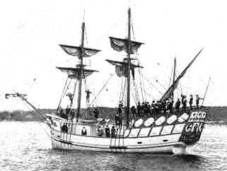 Don de Dieu, navire de Samuel de Champlain Don de Dieu, Samuel de Champlain's ship
