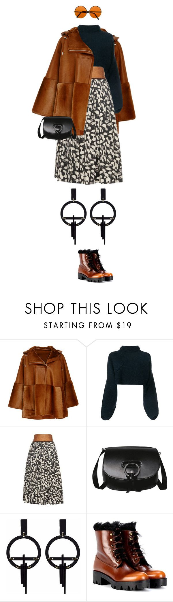 """eva1555"" by evava-c on Polyvore featuring Prabal Gurung, Victoria Beckham, Sophie Theallet, Toolally and Prada"