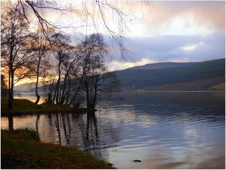 Loch Tummel Evening Light by eric niven on 500px