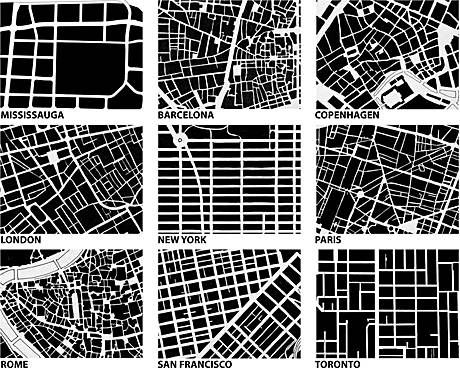 is the quality of life on the streets determined by the form of the streets? Jane Jacobs discusses the use of the sidewalk, and how we can make it safe. one of those safe-making characteristics would be to have eyes on the road and the street. would this concept work for every type of street or must there be a grid-like system or any kind of organization in order to keep the streets 'safe'.