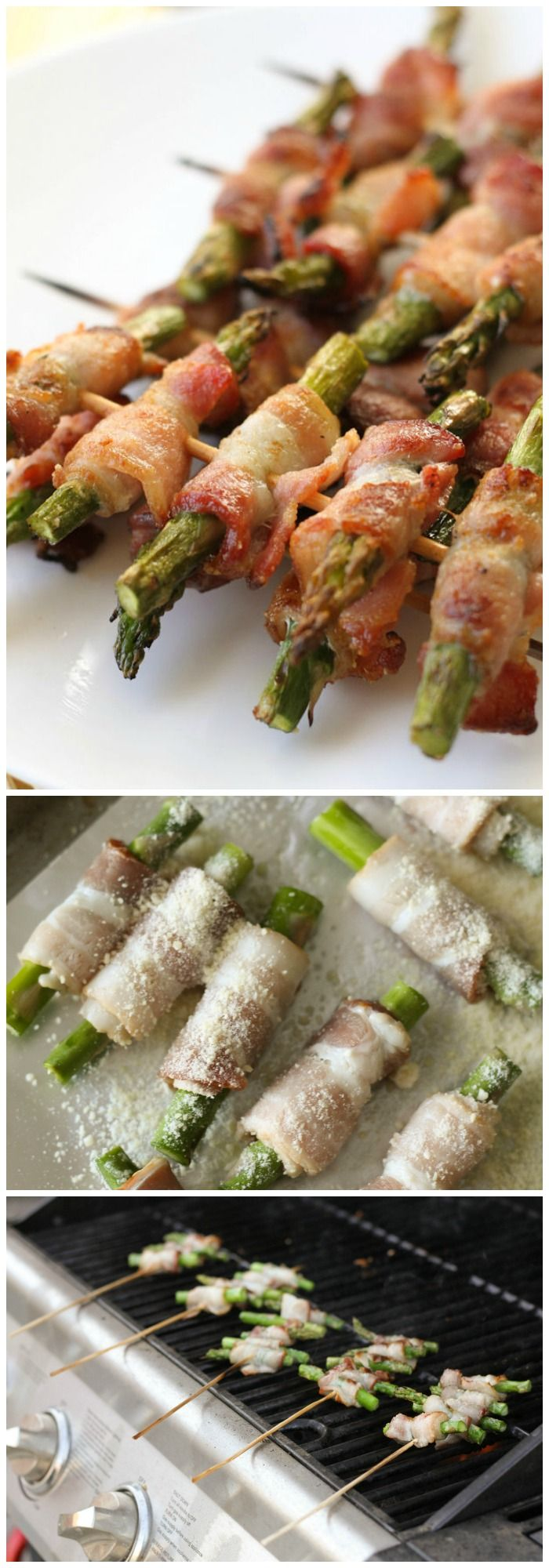 Disneyland- Bacon Wrapped Asparagus Skewers