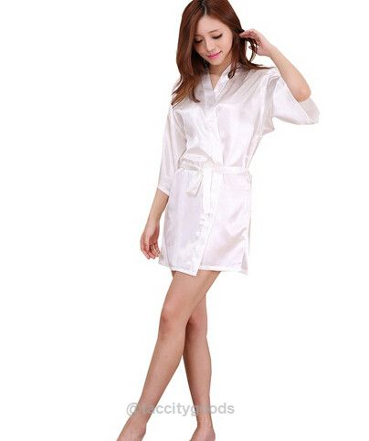 Large Size Sexy Satin Night Robe-nightgown-Tac City Goods Co. https://www.taccitygoods.com/products/large-size-sexy-satin-night-robe