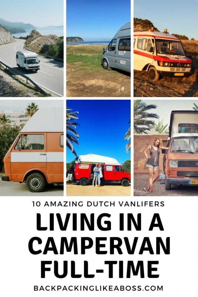 Living in a campervan full-time is amazing. Check out these 10 Dutch Vanlifers that are living the dream! Living in a campervan full-time is not something many Dutch people do! Still, there are some amazing Dutch Vanlifers that are currently on the road! Check out their stories here and get inspired!